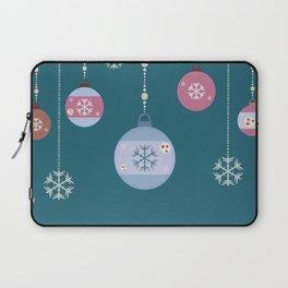 Winter Ornaments Laptop Sleeve