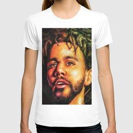 J.Cole Potrait T-shirt