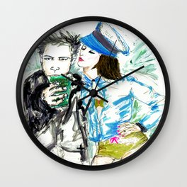 What are you drinking? Wall Clock
