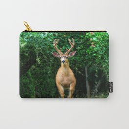 Still In Velvet Carry-All Pouch