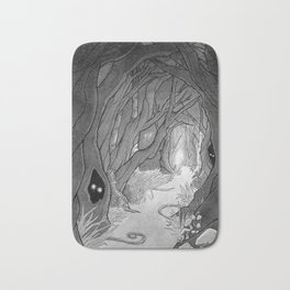 Dark Forest Bath Mat