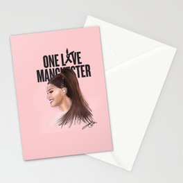 One Love Manchester (A. Grande) Stationery Cards