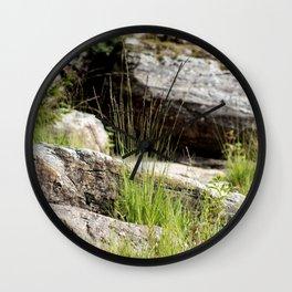 Natures Garden Wall Clock