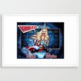 Thor Zakk Wylde concept! Framed Art Print