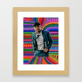 Trevor Noah Framed Art Print