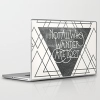 wander Laptop & iPad Skins featuring Wander by Crystal Manning