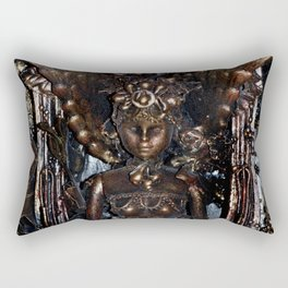 She Rises From Abuse by Kathy Morton Stanion Rectangular Pillow