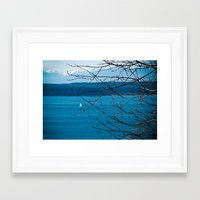 frame Framed Art Prints featuring Frame by Kiersten Marie Photography