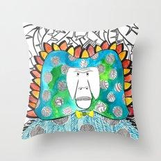 Manmademonkey Throw Pillow