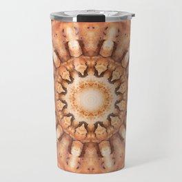 Colors of Rust, mandala 02 Travel Mug