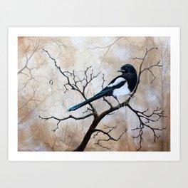 Promise - Magpie Art Print