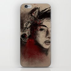 of a woman iPhone Skin