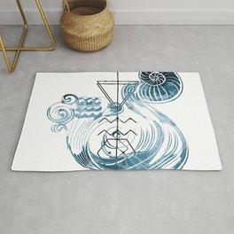 Water-Bearer / Aquarius Rug