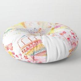 I WISH Floor Pillow