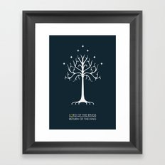 Lord Of The Rings ROTK Framed Art Print
