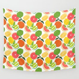 Citrus Harvest Wall Tapestry
