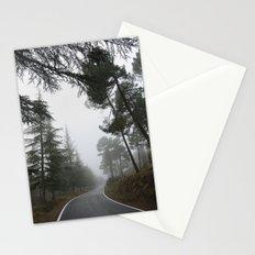 The road, the forest... Stationery Cards