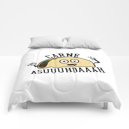 Carne Asuuuhdaaah Comforters