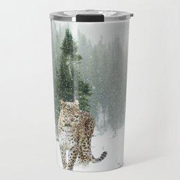 Leopard persian Travel Mug