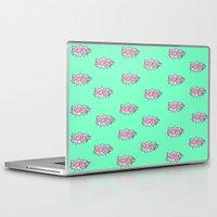 girl power Laptop & iPad Skins featuring Girl Power by Skrinkladado