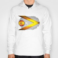 spain Hoodies featuring Spain by ilustrarte