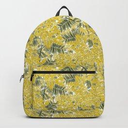 Yellow Mimosa Backpack
