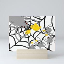 Spider Tea Mini Art Print