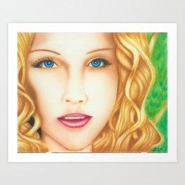 Aliona Art Print