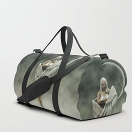 White divine angel Duffle Bag