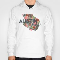 texas Hoodies featuring Austin Texas + by Studio Tesouro