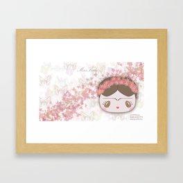 Mini Frida Otoño Framed Art Print