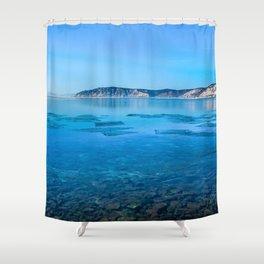 The Angara river Shower Curtain