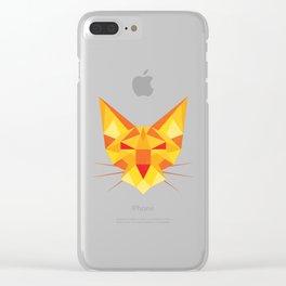 Geometricat Clear iPhone Case