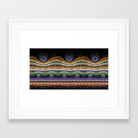 stripe Framed Art Prints featuring stripe by Antracit