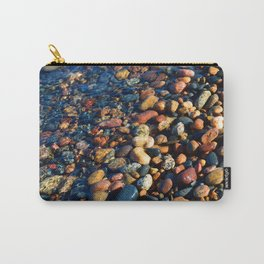 Lake Superior Rocks Carry-All Pouch