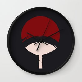 Uchiha Symbol Clan Wall Clock