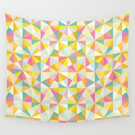 Shanti Sparrow: Love Triangle Wall Tapestry
