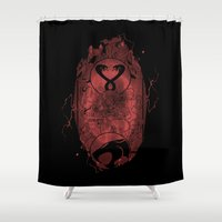 thundercats Shower Curtains featuring Evil Shrouds Us by Vitalitee