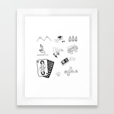 TWIN PEAKS PRINT 2 Framed Art Print