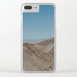 Jacumba Mountains Clear iPhone Case