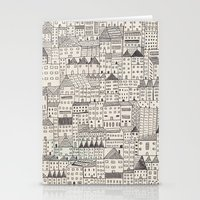 rubyetc Stationery Cards featuring city by rubyetc
