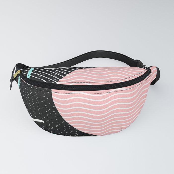 Memphis Summer Night Fanny Pack