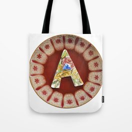 Love Letters to Dinnerware - A Tote Bag