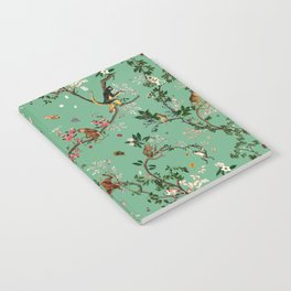 Monkey World Green Notebook