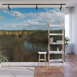 Everglades River of Grass Wall Mural