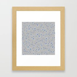 Girl R2-D2 Pattern Framed Art Print