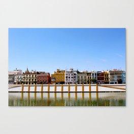 Sevilla Sunshine Canvas Print