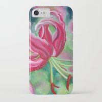 lily iPhone & iPod Cases featuring lily by Beth Jorgensen