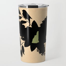 New Hampshire - State Papercut Print Travel Mug