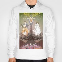 mononoke Hoodies featuring Mononoke Hime by Lady Sugar